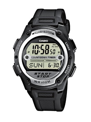 Casio Damen Armbanduhr Analog - Digital Quarz Schwarz Resin Ba-110-1Aer