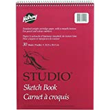 Studio Coil Sketch Book, 9 X 12 Inches, 30 Sheets, White (41511)