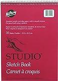 Studio Coil Sketch Book, 9 X 12 Inches, 30 Sheets, White (41511)