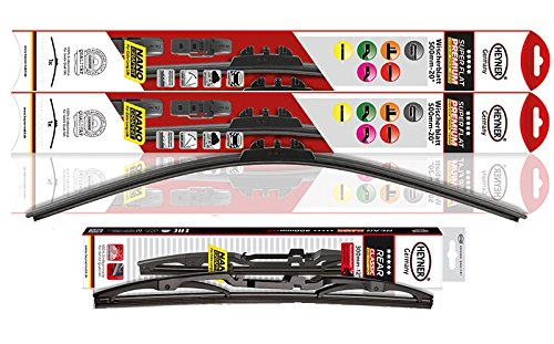Rio Models 2011 To 2016 Heyner Germany Windscreen Wiper Blades Size Front 2616 Rear Blade 10 Replacement Set
