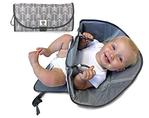 SnoofyBee Diaper Time Redirection Toddlers greyandwhite product image