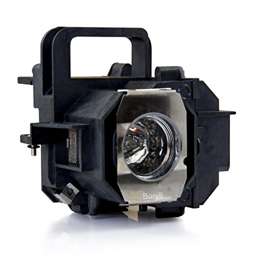 BORYLI ELPLP49 Home Cinema Replacement Projector Lamp with Housing for Epson Projector Lamp Bulb ()