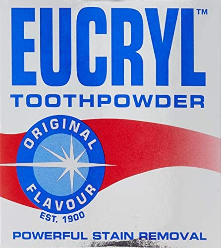 Eucryl Smokers Zahnpulver Original 50g