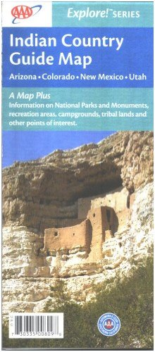 Map: AAA Guide To Indian Country