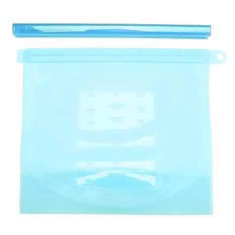 Bolsa de silicona para la preservación, 1500 ml Sello ...