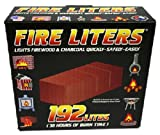Fire Liters 10192 192 Pack Fireplace / CampFire Lighters - Quantity 12 packs