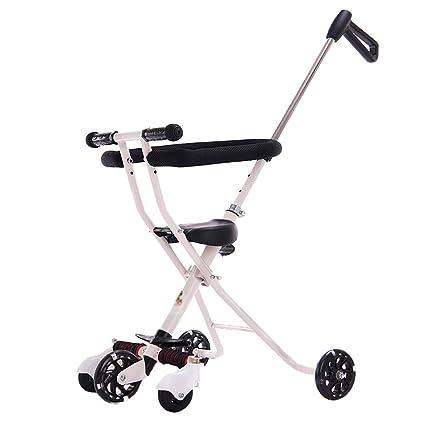 Triciclos Carrito de bebé Niño Trolley de bebé Ligero Plegable ...