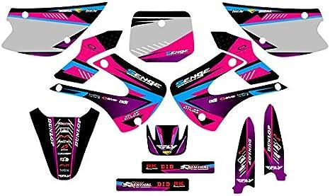 2001-2013 KX 85//100 Surge Pink CUSTOM Senge Graphics Kit Compatible with Kawasaki