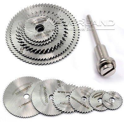 PreAdvisor(TM) HSS Rotationswerkzeuge Kreissägeblätter/Trennscheiben, Spanndorn, für Elektrowerkzeuge / Multitool C10