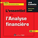 img - for L'essentiel de l'analyse financi re book / textbook / text book