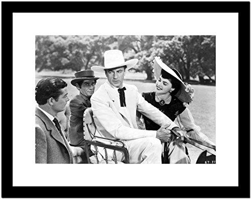 Saratoga Trunk Movie Scene Premium Art Print (Framed 8x10)