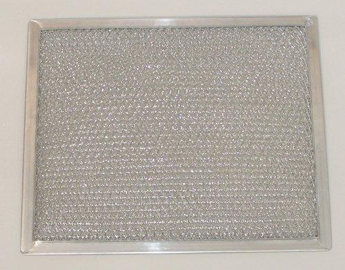 Aluminum Range Hood Filter - 9 7/8'' X 11 11/16'' X 3/8'' (2 Pack)
