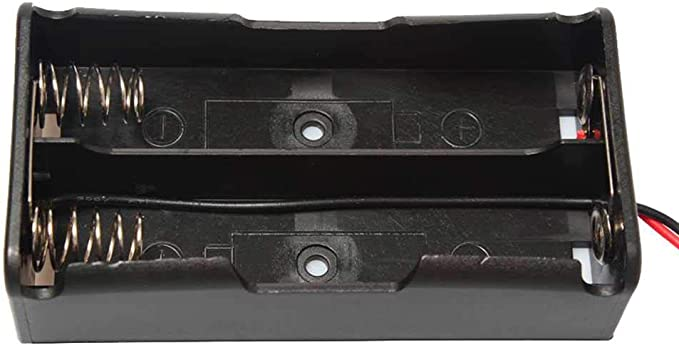 OcioDual Caja para Doble Batería Modelo 18650 Tipo Paralelo 1S2P: Amazon.es: Electrónica