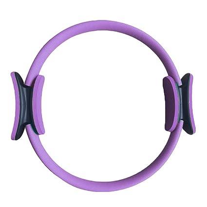 TenYid Anillo de Pilates - Aro de Pilates de Entrenamiento de Resistencia de Aptitud de Yoga Equipos de Fitness - Diámetro: 40CM/15.7