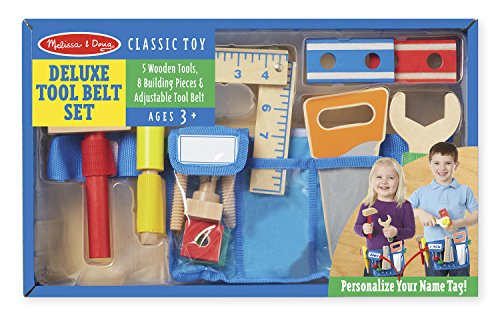 Melissa & Doug Deluxe Tool Belt Set -