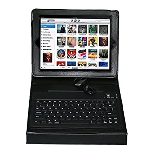 Acase Bluetooth Keyboard Leather Case for iPad by Acase