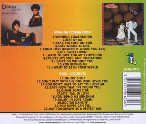 Winning Combination / Goin' Coconuts /  Donny & Marie (Osmond) by Donny & Marie