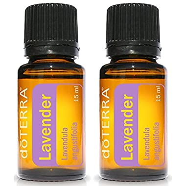 doTERRA Lavender Essential Oil - 15 ml - 2 Pack