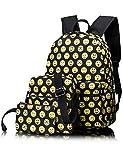 Leaper Lightweight Emoji Backpack Daypack Shoulder bag Pencil Case Set