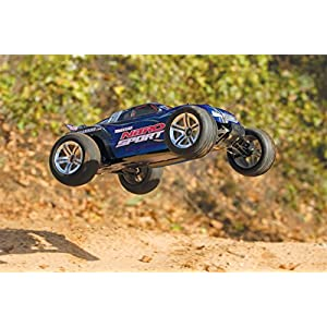 Traxxas Nitro Sport: 2WD Stadium Truck with TQ 2.4 GHz Radio (1/10 Scale), Blue