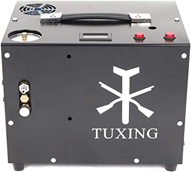 TXET061-2 4500Psi 12V Compressor Auto-Stop Compressor Pcp Air Compressor for Pcp Air Rifle 110V//12V