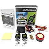 KapscoMoto 2 Way Motorcycle Alarm Pager Remote Engine Start For Can-Am Spyder Roadster RS RT Phantom