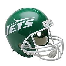 NFL Riddell New York Jets Green 1978-1989 Throwback Replica Full-Size Helmet