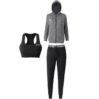 Amazon.com: Lilongjiao Fitness Ropa de yoga Ropa de gimnasio ...