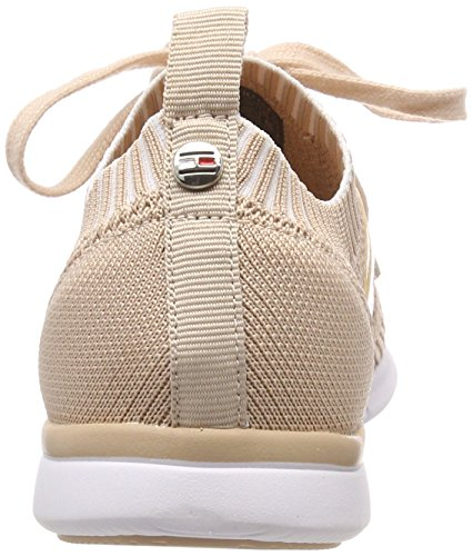 Knitted Femme Rose 502 Hilfiger Weight Light Sneakers Basses dusty Sneaker Tommy BwRfU4q5x5