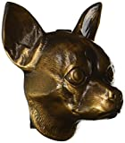 Chihuahua Dog Knocker - Bronze
