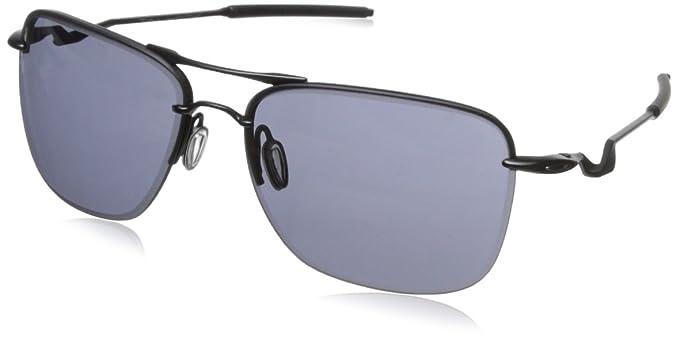 Oakley Men's Tailhook OO4087-01 Rectangular Sunglasses