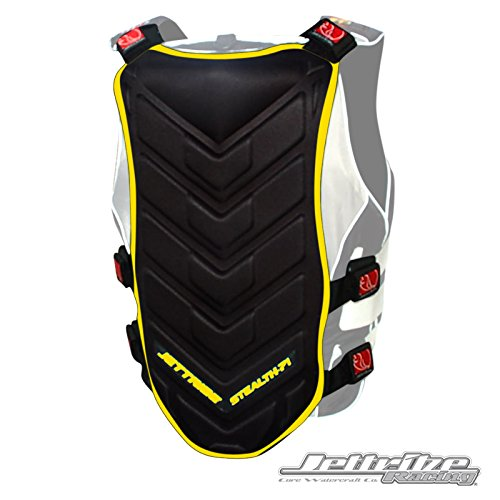 STEALTH 71 BACK DEFLECTOR (BLACK/YELLOW)