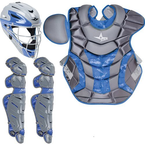 All Star System Seven Adult Camo Pro Catcher's Kit (7 System Catchers)