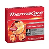 ThermaCare Multi Purpose Muscle Heat Wraps, 3 count per pack -- 24 per case.