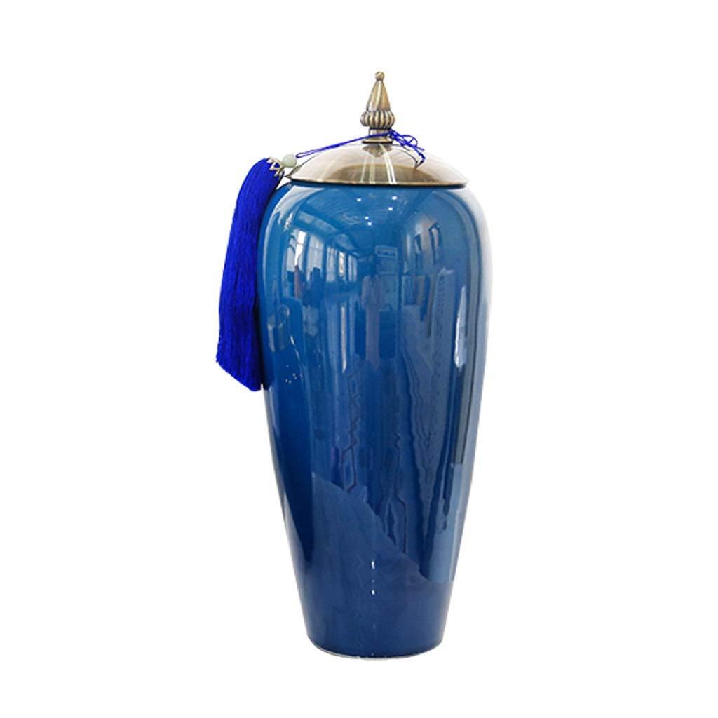 LIULIJUN ヨーロッパ系アメリカ人の家の陶磁器の花瓶の装飾の家の居間の花の整理TVのキャビネットの装飾の家具 B07T33LRDC