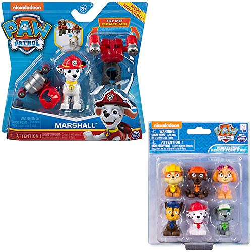 Paw-Patrol-Toys-Mighty-Pups-2-Pack-Marshall-Action-Figures-with-with-2-Jetpacks-Cake-Topper-for-Kids-Girls-and-Boys-Age-3-Age-4-Age-5-and-Up