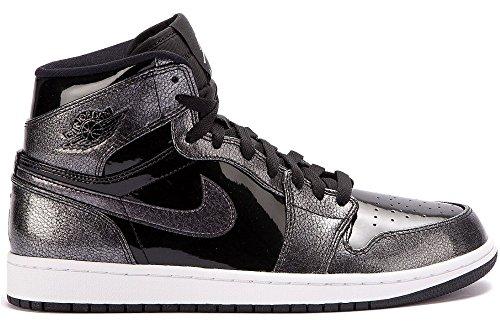 nike-jordan-mens-air-jordan-1-retro-high-black-black-white-basketball-shoe-13-men-us