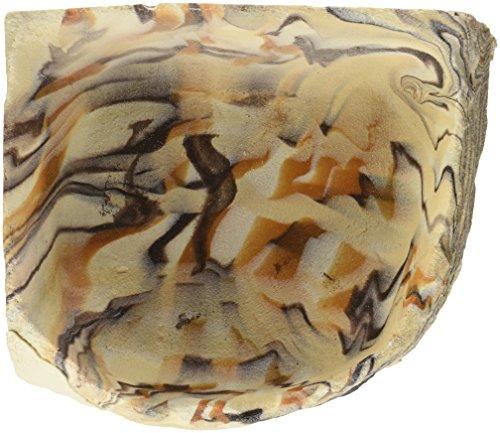 [해외]록 가든 10 x 10 x 1.25 지구 톤 코너 보울, 대형/Rock Garden 10 x 10 x 1.25  Earthtone Corner Bowl, Large