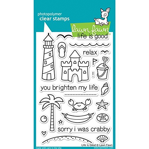 Lawn Fawn Clear Stamps - Life Is Good by Lawn Fawn