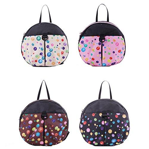 Bebé de diseño de lunares de la capacidad de pañal para quitarlo fácilmente una bolsa de regalos bolsa de pañales + de la mochila de una mochila o bolso extrañas de la momia bolsa para la compra de ce rosa