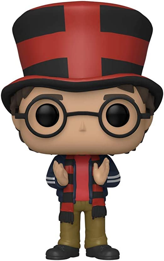 POP Funko Wizarding World Harry Potter 120 Harry Potter at Quidditch World Cup 2020 Summer Convention: Amazon.es: Juguetes y juegos