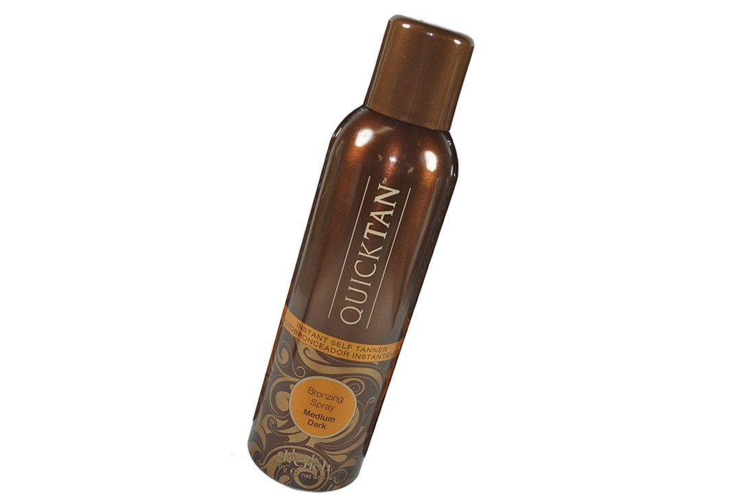 Body Drench Quicktan Quick Tan Bronzing Spray Medium Dark The Perfect Ultra Bronzing Self-tanner a Fast-drying Formula – Size 6 Oz 170g Pack of 6