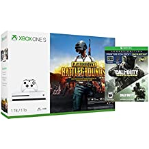 Microsoft PlayerUnknown's Battlegrounds Xbox One S 1TB Console and Call of Duty: Infinite Warfare Legacy Edition Prestige Icon Pack Bundle