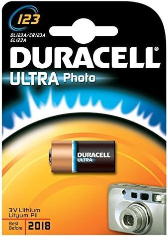 Duracell Batterie Lithium Photo Cr123a 3v Ultra Elektronik