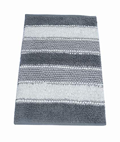 Chardin home Newport Soft and Durable Tissue/Chenille Rug, Cotton Poly Blended Bathroom Mat or Accent Rug, 20