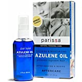 Parissa Azulene After Waxing Oil, Aftercare Oil Prevents Ingrown Hairs Soothes Skin Chamomile Extract, 60 ml (2 oz) Easy Spray Bottle