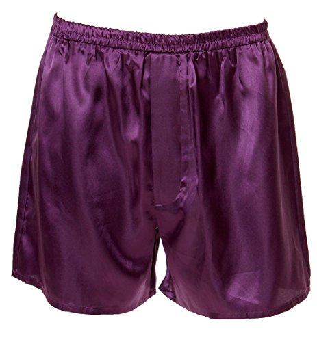 (Men's Satin Boxer Short # 8025 (XL,)