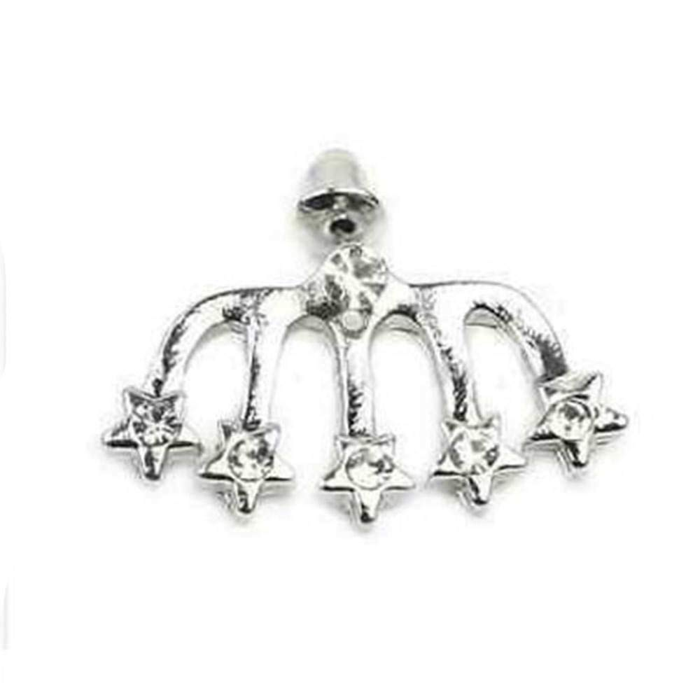 Nail Eardrop Cute Cuff Wrap Pin Jewelry Crystal Ear Stud Star Shape Women Best Accessory Good Accessories Bright Novelty Pendant Pretty Brides Comfortable