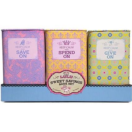 ac4e7b585f16db Amazon.com: Sugar Lulu Sweet Savings Bank Set: Toys & Games