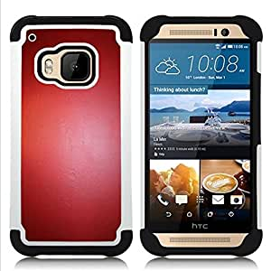- reflective latex leather paint color/ H??brido 3in1 Deluxe Impreso duro Soft Alto Impacto caja de la armadura Defender - SHIMIN CAO - For HTC ONE M9